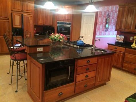 kitchen maid cabinets sale kraftmaid cherry cabinets cambria granite countertops