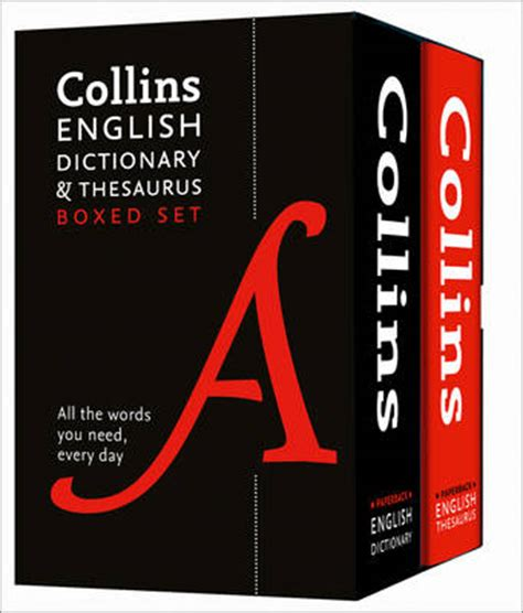 collins english dictionary and 0008141797 collins english dictionary and thesaurus by collins dictionaries waterstones
