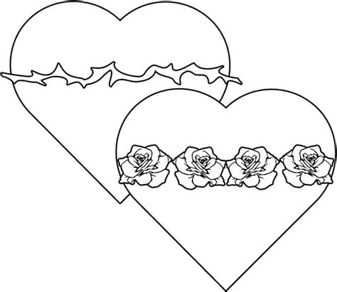 cute heart coloring pages coloring part 2