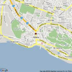 albany map map of albany western australia hotels accommodation