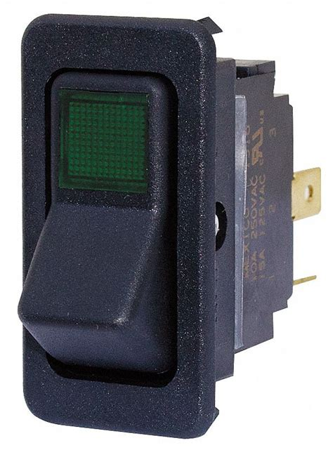 eaton rocker switch contact form spst number
