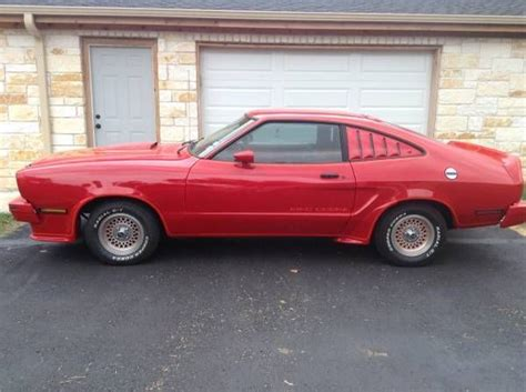 1978 mustang cobra for sale 1978 ford mustang ii king cobra 4 speed classic ford