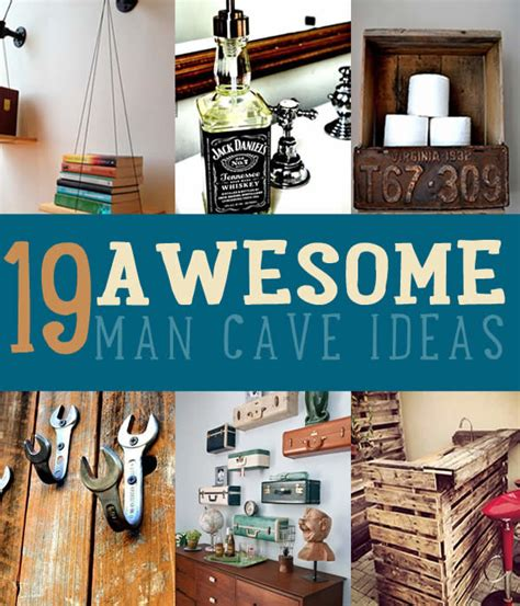 awesome diy projects for guys 19 diy awesome cave ideas iseeidoimake