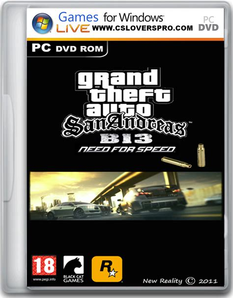 gta san andreas b13 nfs download full version grand theft auto san andreas b13 need for speed edition