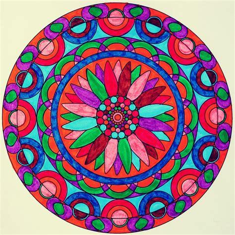 colorful mandala colorful mandala coloring