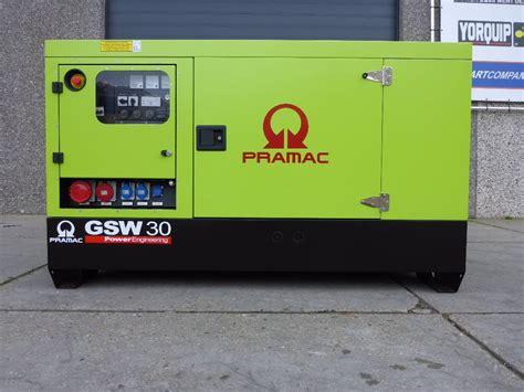 Pramac Gsw65p Diesel Generator Used Pramac Gsw30 32 5 Kva Perkins Sns813 Diesel