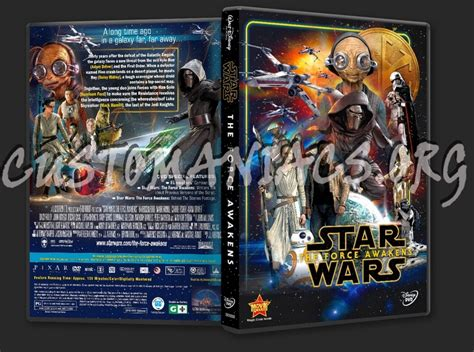 Wars The Awakens Dvd Original forum djsale covers page 7 dvd covers labels by customaniacs