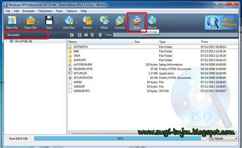 membuat bootable iso windows xp tutorial cara membuat cd bootable windows xp dengan