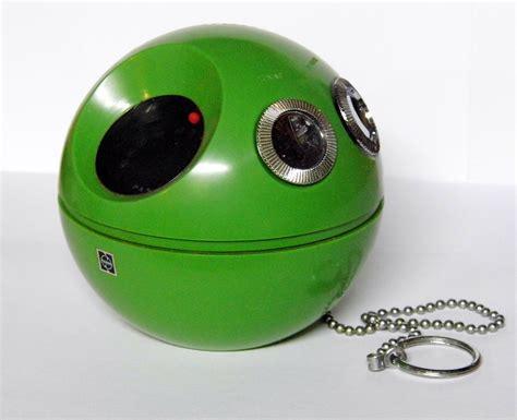 r ball 2 file vintage panasonic green panapet 70 ball n chain radio