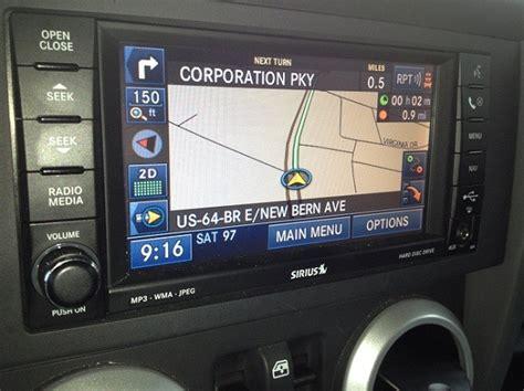 2012 Jeep Grand Navigation System Mygig Navigation System For Dodge Jeep Chrysler