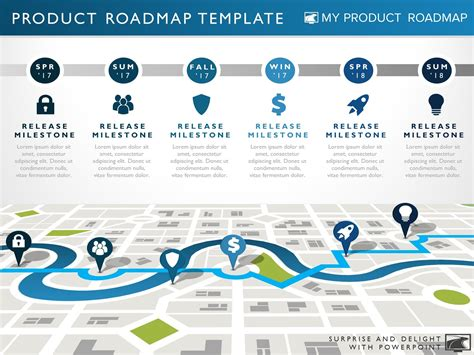 technology roadmap template ppt free download product roadmap