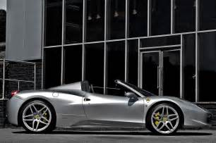 Silver 458 Spider 458 Italia Spider Tuned By Kahn Design Autotribute