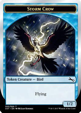Storm Crow Meme - unstable スポイラー カルト的人気を誇る 嵐雲のカラス を生み出す青のストーム呪文 イゼ速