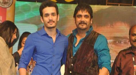 actor nagarjuna son akhil nagarjuna son s film akhil postponed the indian express