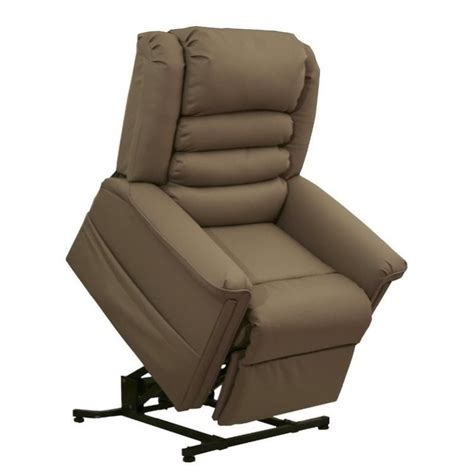 leather power lift recliner faux leather lift chair catnapper invincible faux