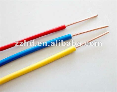 electrical wire insulation codes low price pvc insulated electric wire color code view low