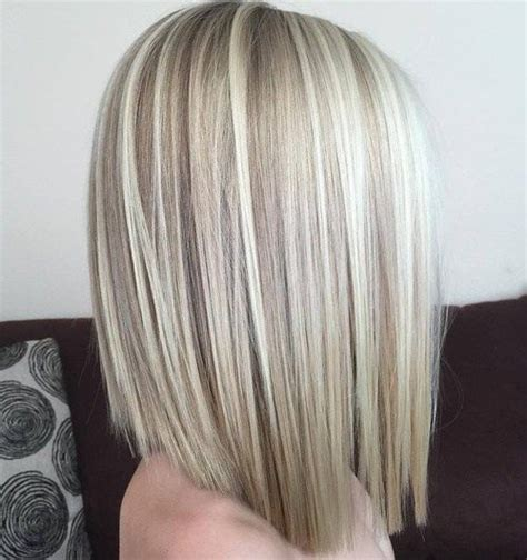 one length thick chunky bob 90 sensational medium length haircuts for thick hair