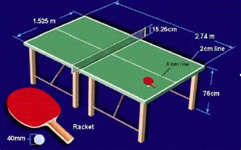 Lapangan Tenis Meja Kayu Jati ukuran tenis meja beserta cara bermainnya