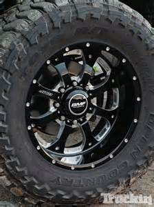 Bmf Black Truck Wheels Bmf Wheels Ford F250 Superduty Feature Truckin Magazine