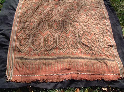 Borneo Ikat borneo woven pua kumbu ikat tapestry textile by