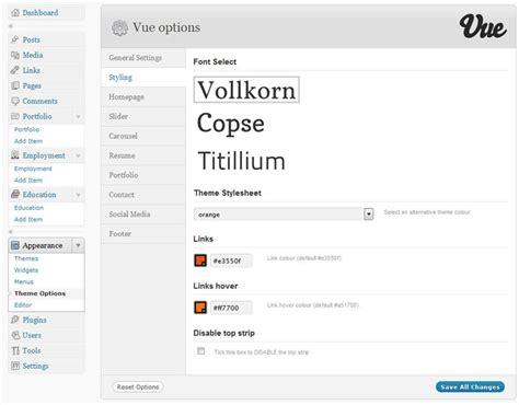 themeforest vue vue portfolio cv wordpress theme by rocketshipthemes