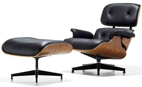 lounge chair and ottoman eames 174 lounge chair ottoman hivemodern com