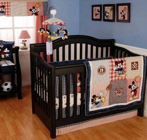 Basketball Crib Bedding Baby Boy Mickey Mouse Allstar Sports Baseball Basketball Soccer And Football Theme Nursery