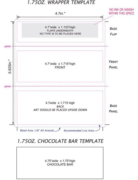 miniature bar wrappers template free free bar wrapper template ednteeza steve