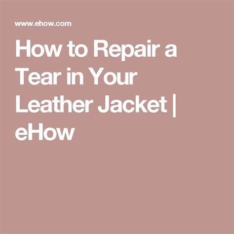 How To Repair A Tear In A Leather Sofa Mais De 1000 Ideias Sobre Leather Repair No Reparar Sof 225 S Em Pele Couro E Limpeza