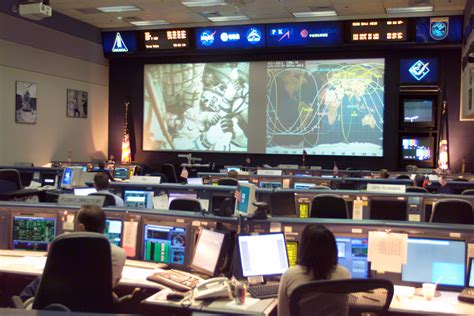nasa mission room optalert in outer space