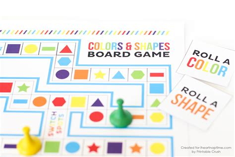 printable game board shapes shapes and colors printable board game i heart nap time