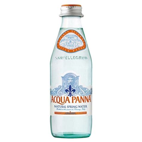 Teh Gelas Botol 250 Ml acqua panna water 250 ml glass bottles