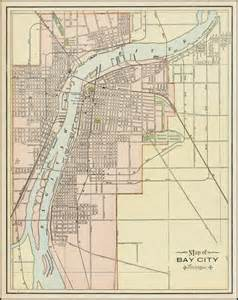 map of bay city map of bay city michigan barry ruderman