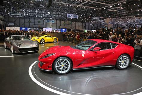 Maranello Italy by Ferrari 812 Superfast Salon De Gen 232 Ve 2017 Motorlegend Com