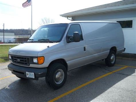 how cars engines work 2003 ford e series navigation system find used 2003 ford e 350 base extended cargo van 2 door 5 4l in muscatine iowa united states