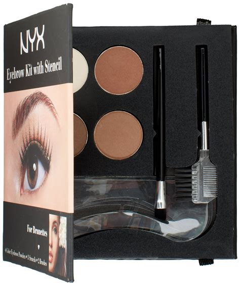 Nyx Eyebrow Kit With Stencil nyx eyebrow kit with stencil fleshtone net