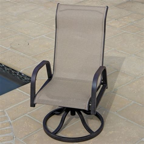 High Back Swivel Patio Chairs High Back Swivel Rocker Patio Chairs Chair Design