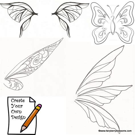 tinkerbell wings clipart - Clipground Insect Drawings Clip Art