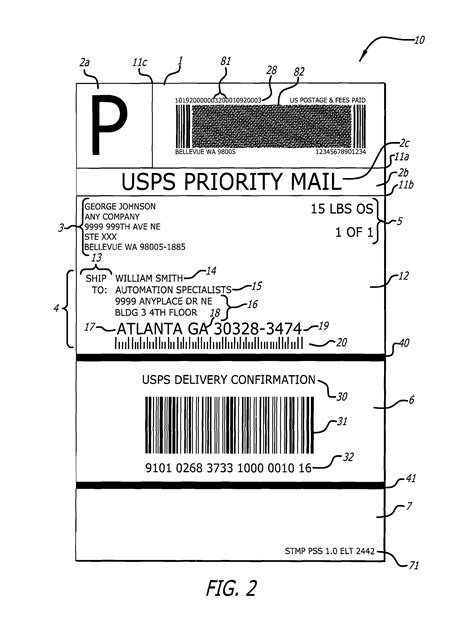 q connect label template usps shipping label template 6 popular sles templates