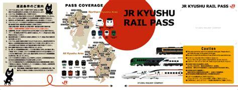 3 Days Northern Kyushu Jr Pass Tiket Japan Rail Jrpass Jepang traveling to kyushu
