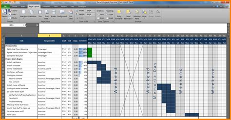 Free Excel Project Tracking Templates by 9 Free Excel Project Management Tracking Templates