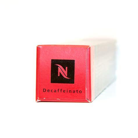 Nespresso Decaffeinato   box of 10 original nespresso capsules