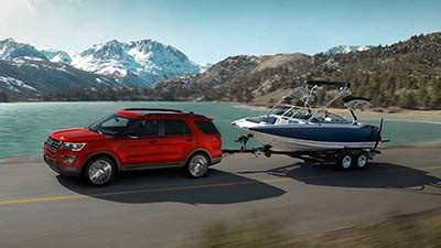 the 2017 ford explorer is exceeds your towing needs