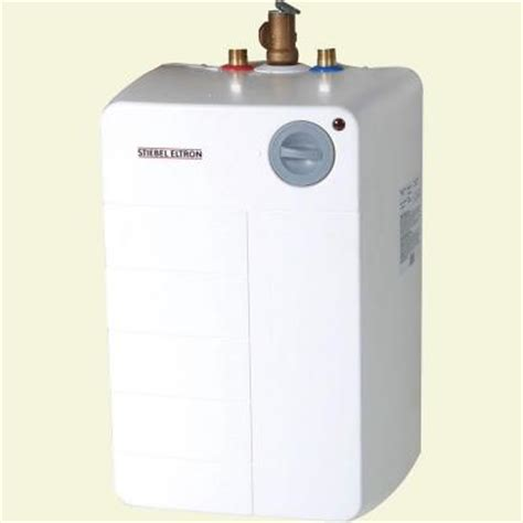 Small Water Heaters Electric Home Depot Stiebel Eltron Shc 4 Gal Electric Mini Tank Water Heater