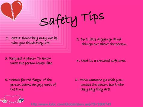 5 Important Tips For Safe Dating by Dating