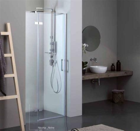 doccia a nicchia porta battente per doccia a nicchia quot 8mill infinity quot