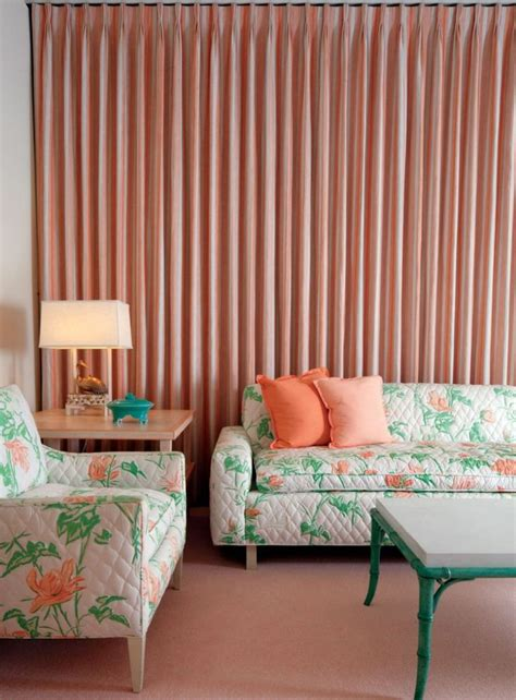 peach bedroom curtains 35 best images about architecture design at sunnylands