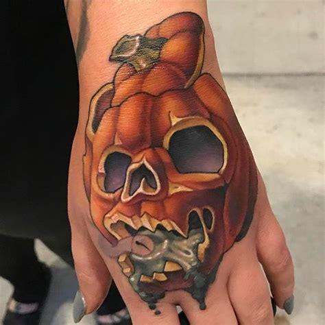 new school pumpkin tattoo new school tattoo