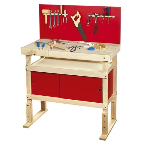 girls tool bench young carpenters work bench with tools new by leomark ebay