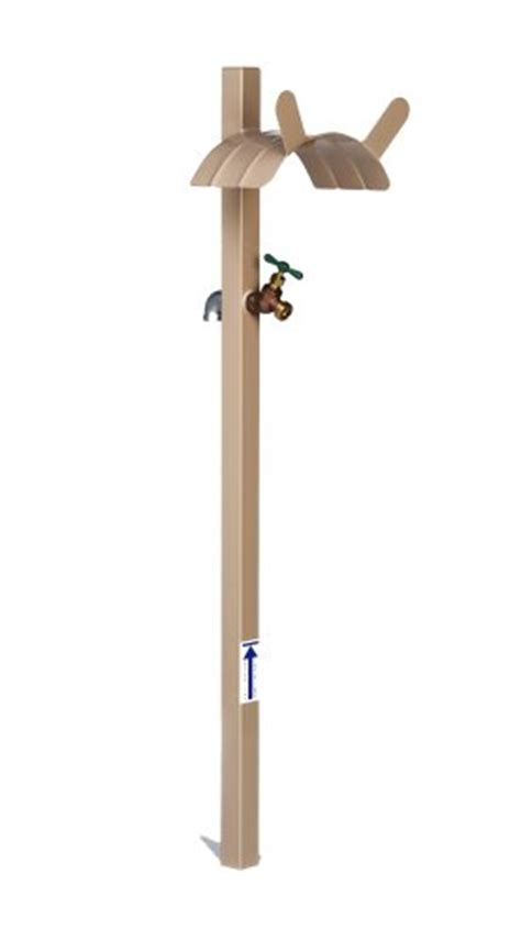 Garden Hose Hanger With Faucet by Garden Hose Stand Holder Decorative Ground Stake